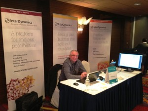 InterDynamics stand at Rail Conference in Singapore